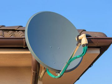 Установка спутникового ТВ